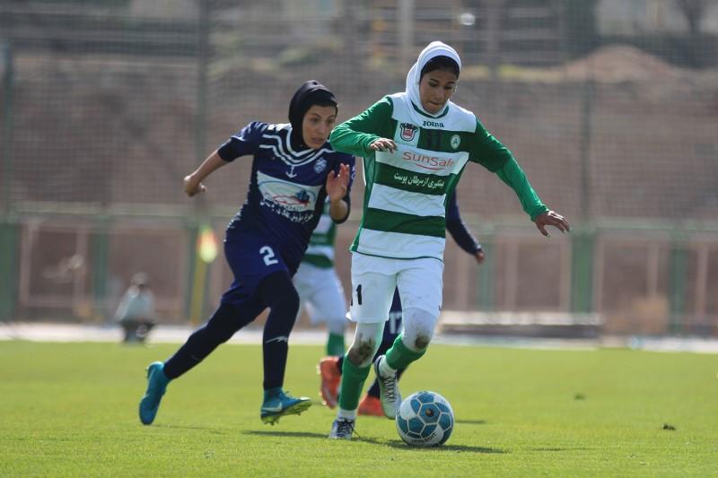 برگزاری لیگ برتر فوتبال بانوان