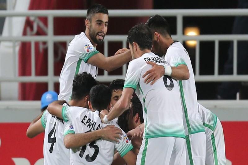 دیدار تیم های النصر و ذوب آهن در لیگ قهرمانان آسیا