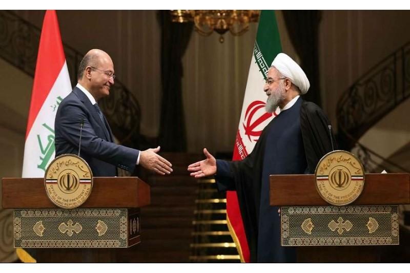 استقبال رسمی از حسن روحانی در کاخ قصرالسلام بغداد انجام شد