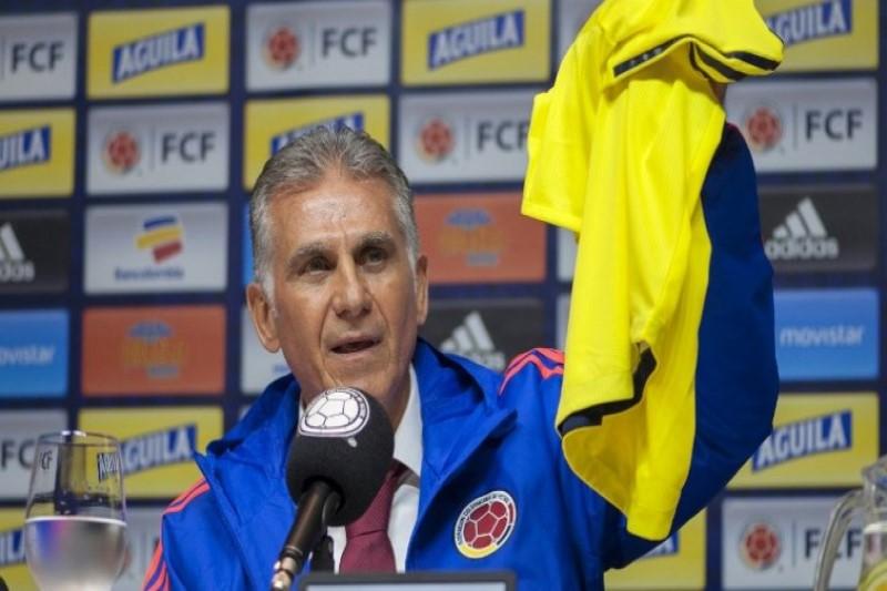 کیروش نخستین فهرست بازیکنان کلمبیا را اعلام کرد