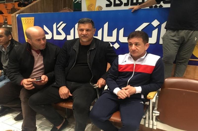 حضور آقای گل فوتبال جهان در خانه کشتی تهران