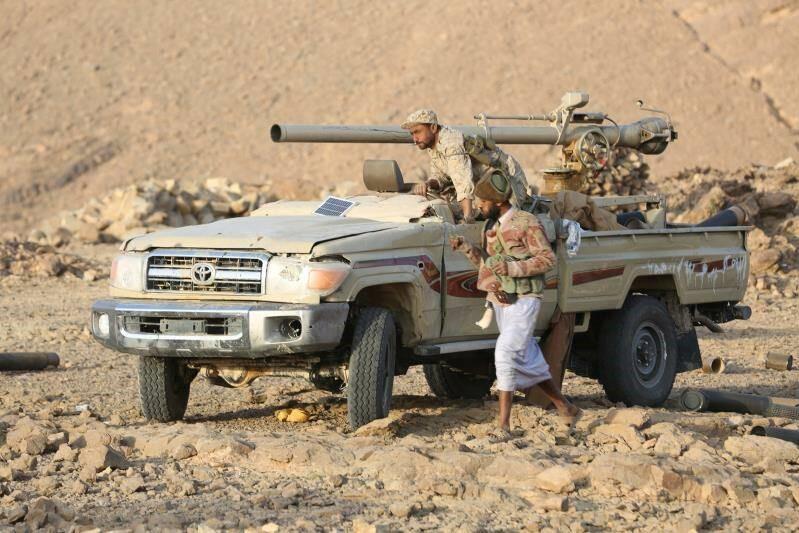 رزمندگان یمنی موفق شدند پیشروی مزدوران سعودی را متوقف کنند+نقشه میدانی