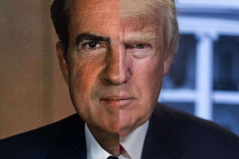 آیا ترامپ در مسیر «نیکسون» شدن قرار دارد؟