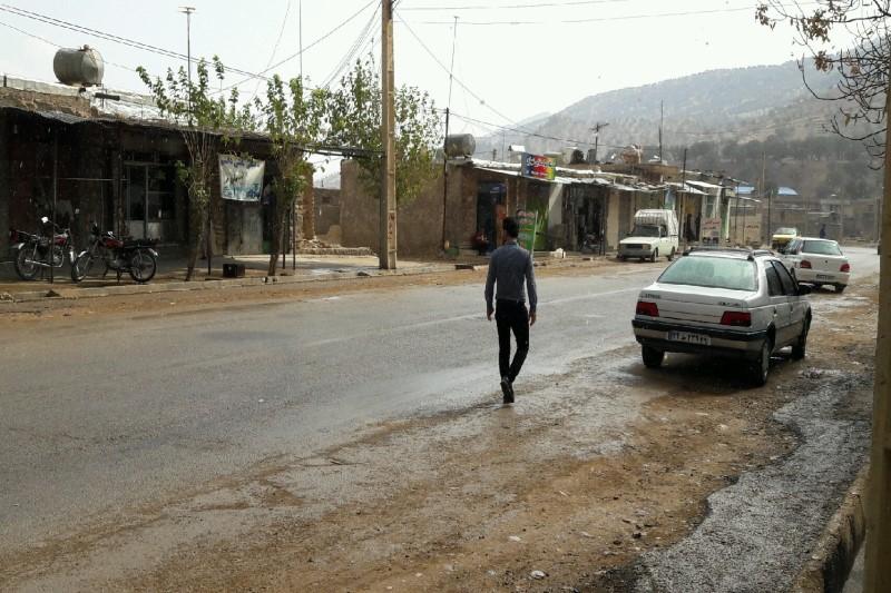 رقص چاله چولهها در خیابانهای یاسوج+تصاویر