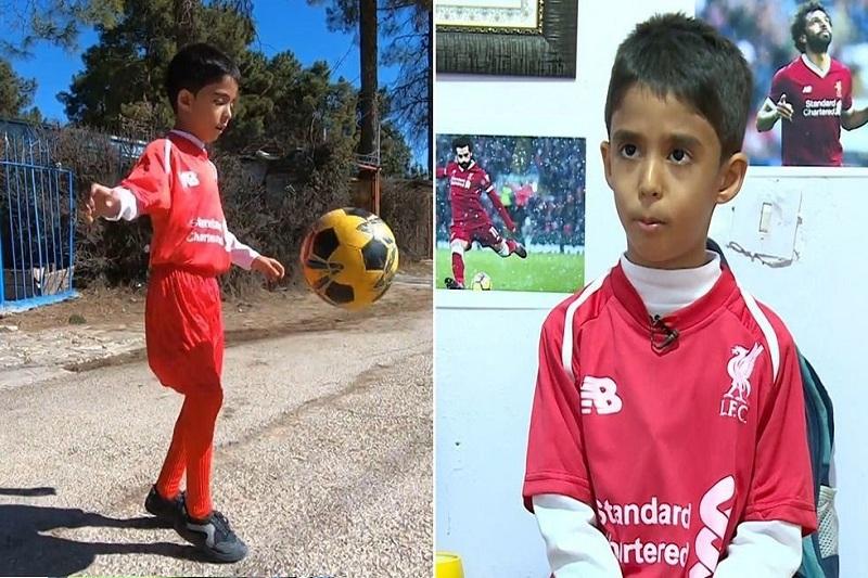 پسربچه ۷ ساله ایرانی مورد توجه رسانههای عربی قرار  گرفت+فیلم