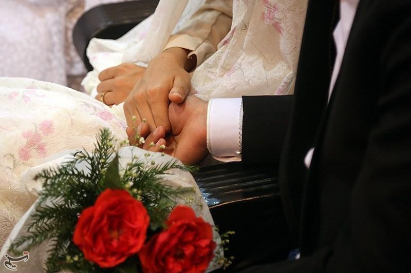 مراسم عقد آنلاین اشک پدر عروس را درآورد+فیلم