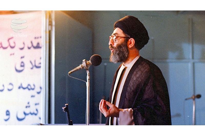 لحظه وقوع انفجار حین سخنرانی آیتالله خامنهای+فیلم