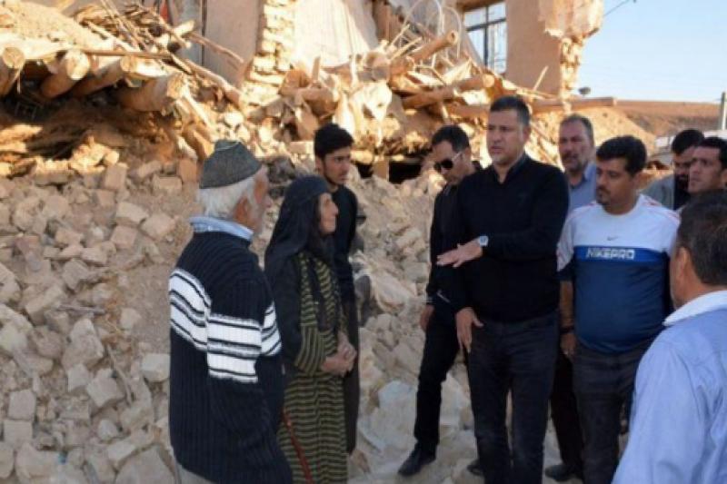 علی دایی خبر داد: شروع خانهسازی در روستای تپانی سرپل ذهاب