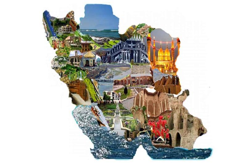 نقشه های گردشگری ۳۱ استان و ۲۲ مرکز استان مهم گردشگرپذیر بروز رسانی شد