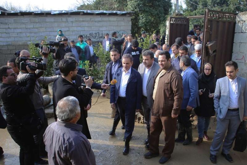 هزینههای سرسام آور هیئت همراه ۷۰ نفره جهانگیری در سفر چند ساعته به گلستان