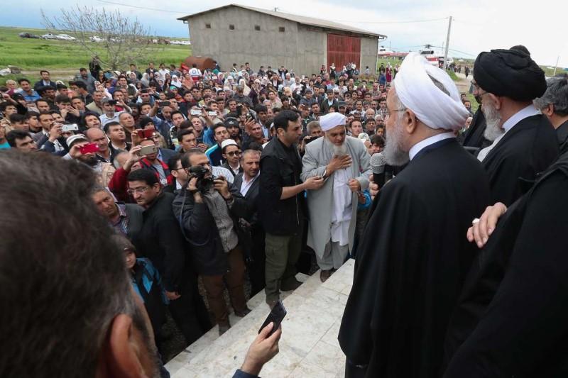 آخرین اخبار از سیل گلستان؛ رئیس جمهور به گلستان آمد