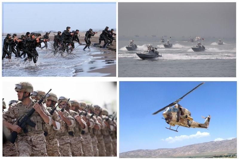 نیروهای مسلح ایران از نظر رزمی در آمادگی کامل قراردارند