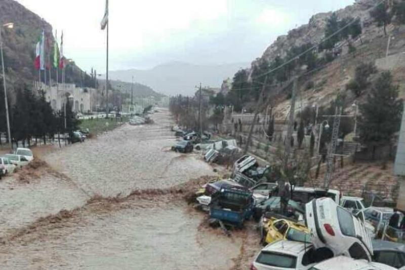 آیا مقصر سیل شیراز سپاه  بود؟!+فیلم
