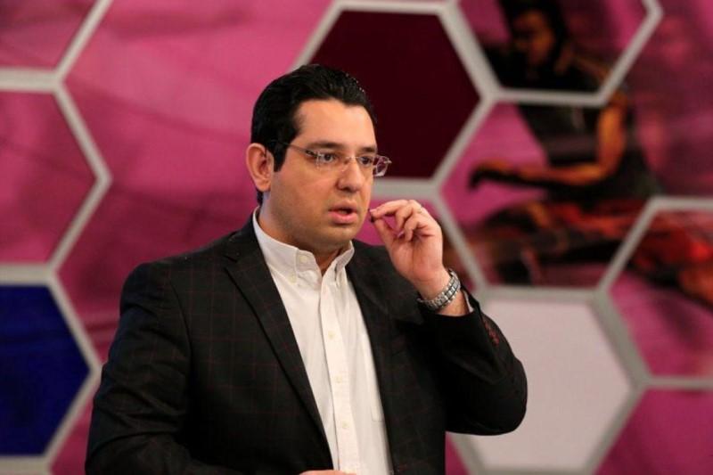 محمد رضا احمدی گزارشگر دربی ۸۹