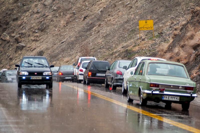 آخرین وضعیت محدودیتهای ترافیکی جادههای کشور در ۱۳ فروردین