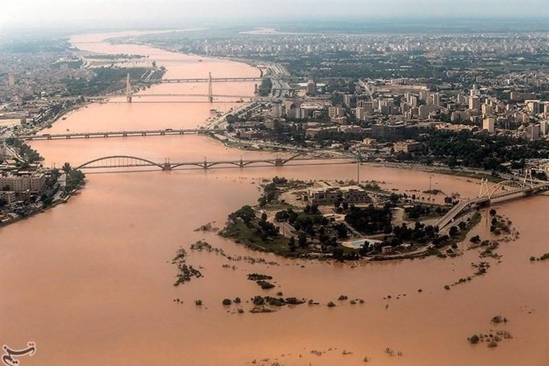 تخلیه  ۶۷ روستا در خوزستان به دلیل ورود سیلاب