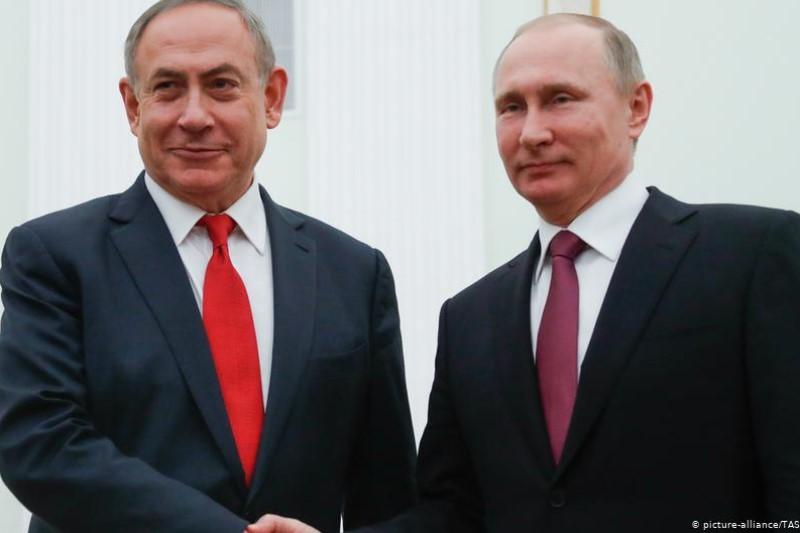 کمک پوتین به ماندن نتانیاهو در قدرت+فیلم