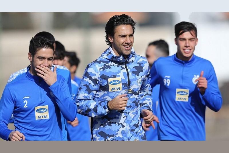 بازیکنان مصدوم تیم فوتبال استقلال به تمرینات تیمشان اضافه میشوند