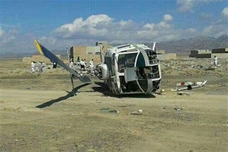 سقوط بالگرد در ارومیه  با ۴ مصدوم