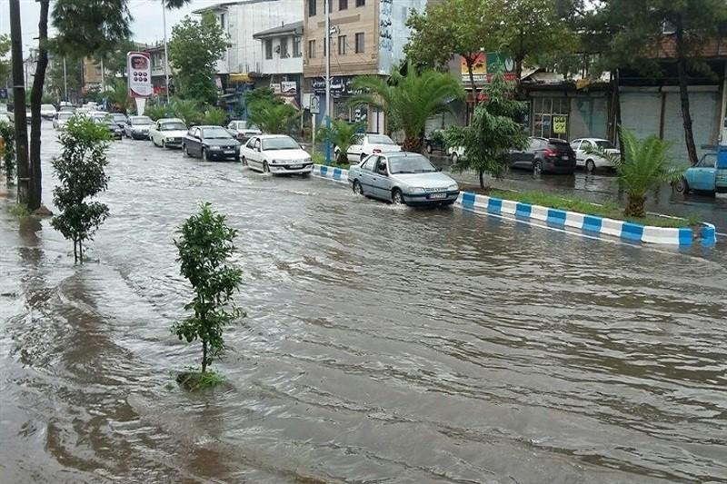 احتمال وقوع سیلاب همراه با رعد و برق در برخی استانهای کشور