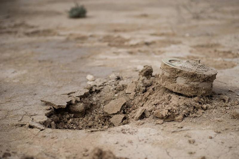 خطر مین در مناطق سیلابی
