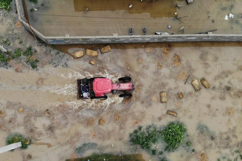 گرم شدن هوا و خطری بالقوه در مناطق سیلزده