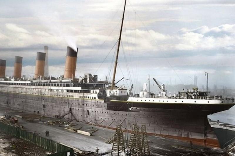 سالروز غرق شدن کشتی تایتانیک