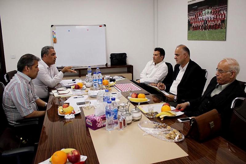 هیئت مدیره باشگاه پرسپولیس  تشکیل جلسه داد