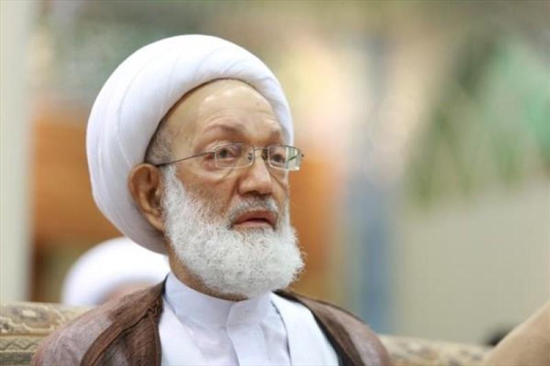 شیخ عیسی قاسم،  از تمامی اتباع این کشور در ایران خواست تا به کمک سیلزدگان بشتابند