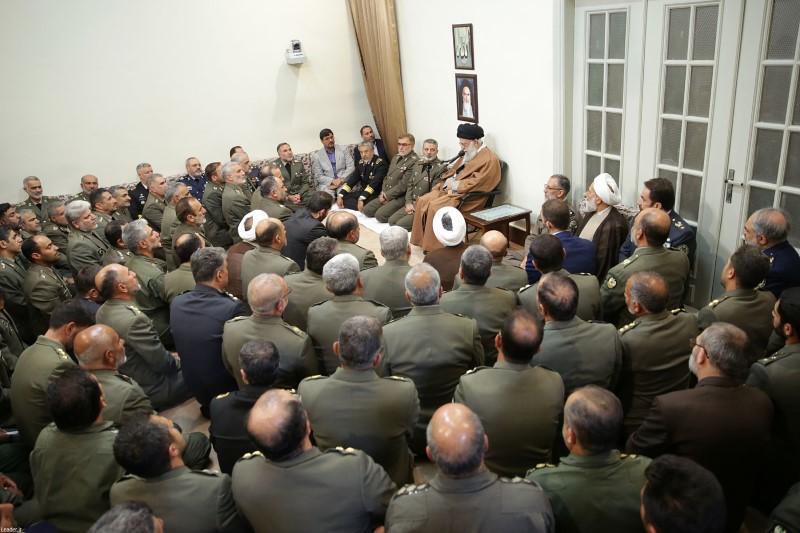سرهنگ ارتش درمناطق سیلزده مورد توجه مقام معظم رهبری قرار گرفت، که بود؟