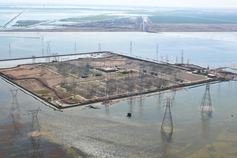خسارت چشمگیر سیل به تأسیسات نفتی