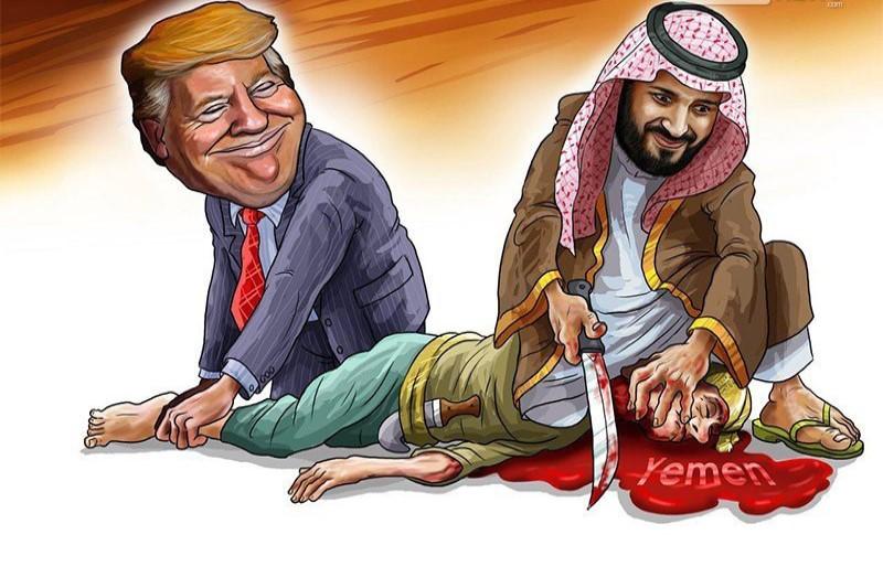 اهداف دونالد ترامپ  از وتو توقف مشارکت آمریکا در جنگ یمن به رهبری عربستان سعودی