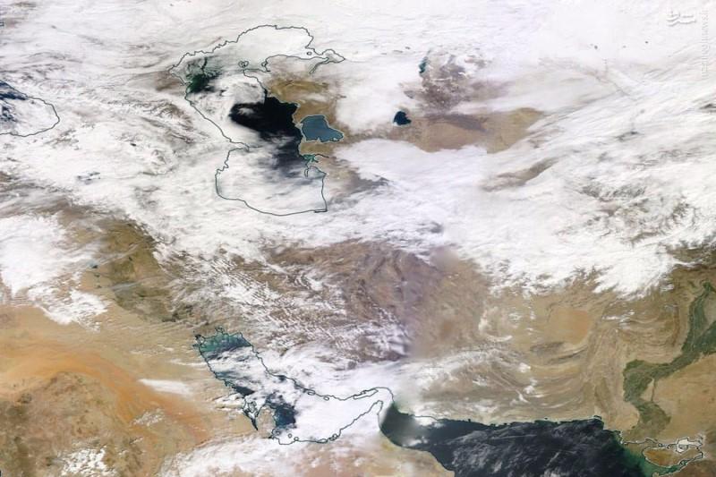 آخرین وضعیت آب و هوا در ۲۹ فروردین ۹۸