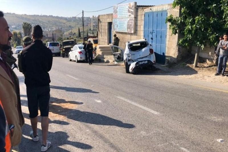 یک شهرکنشین صهیونیست   معلم زن فلسطینی را  با کامیون زیر گرفت+تصاویر