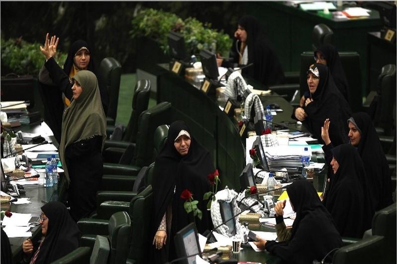اعتراض هماهنگ نمایندگان زن به عدم تصویب یک طرح
