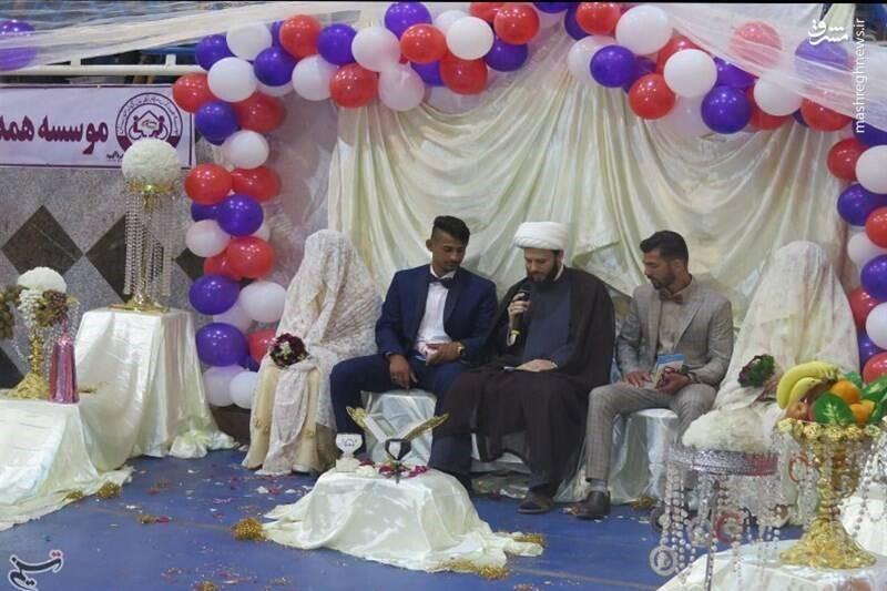 جشن عروسی در مناطق سیل زده + فیلم
