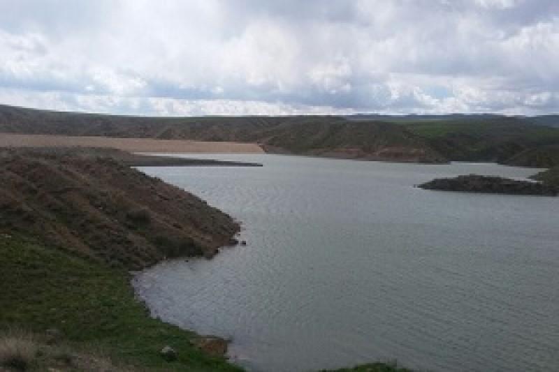 آبگیری سد خاکی چنگوره آوج با ظرفیت ۳ میلیون متر مکعب