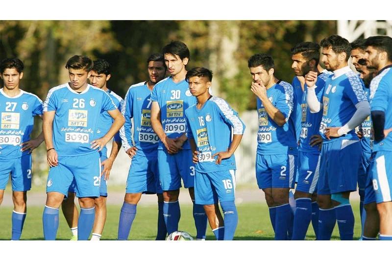 آخرین تمرین تیم فوتبال استقلال پیش از دیدار با الهلال