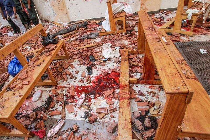 انگیزه حملات سریلانکا  گرفتن انتقام حمله نیوزیلند اعلام شده است