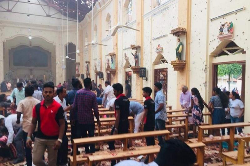 دستکم ۴۵ کودک در انفجارهای اخیر سریلانکا کشته شدند