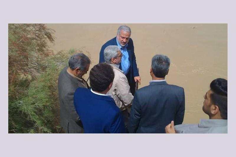 بازدید معاون سیاسی وزیر کشور از مناطق سیلزده استان سیستان و بلوچستان