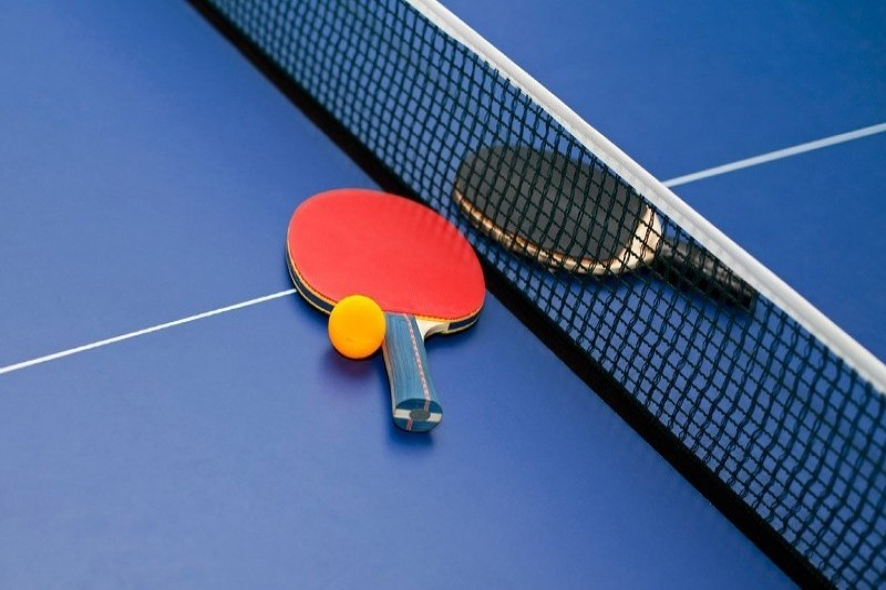 تغییر رنگ راکت تنیس روی میز
