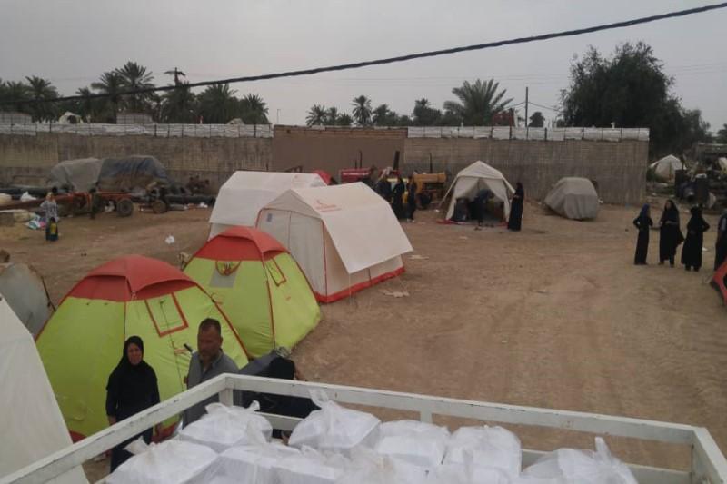 امدادرسانی به مردم مناطق سیلزده