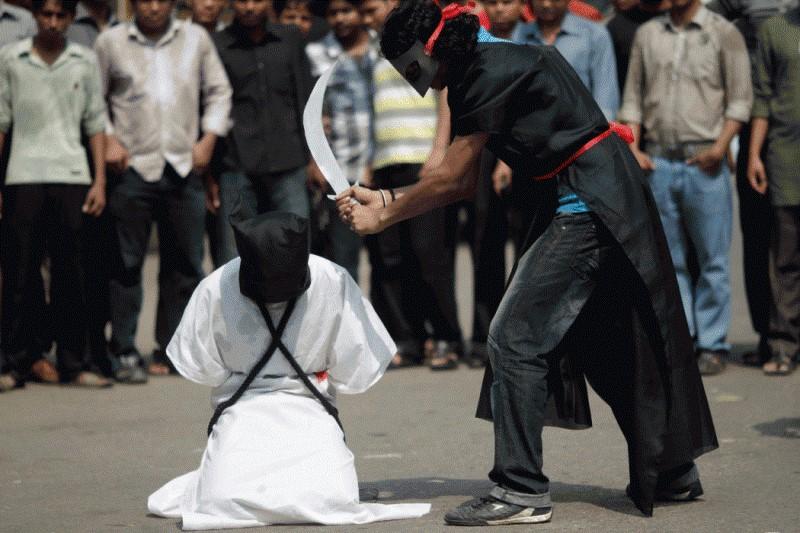 ۳۷ مبارز عربستانی به چه اتهام سر از تنشان جدا شد؟