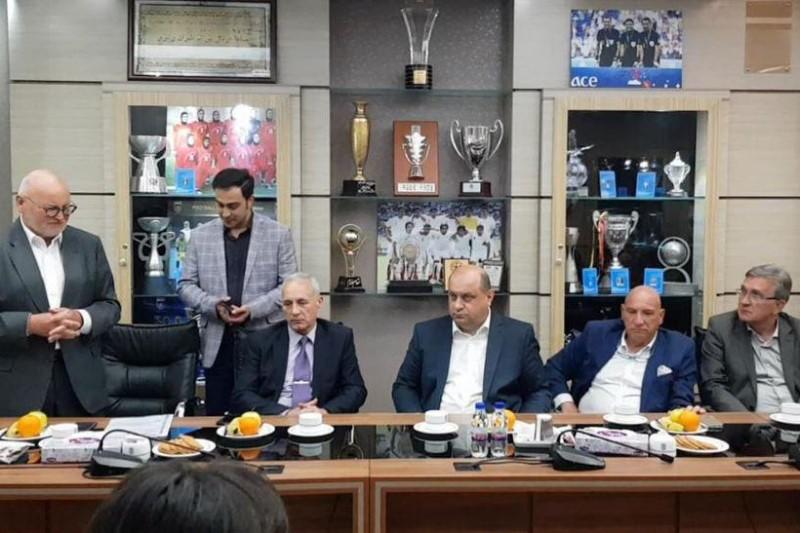 بازدید رئیس کمیته ملی المپیک کرواسی از مرکز ملی فوتبال