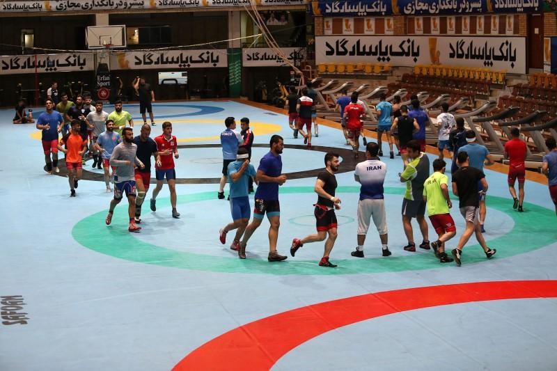 اردوی تیم ملی کشتی فرنگی ۱۴ اردیبهشت ماه برگزار میشود
