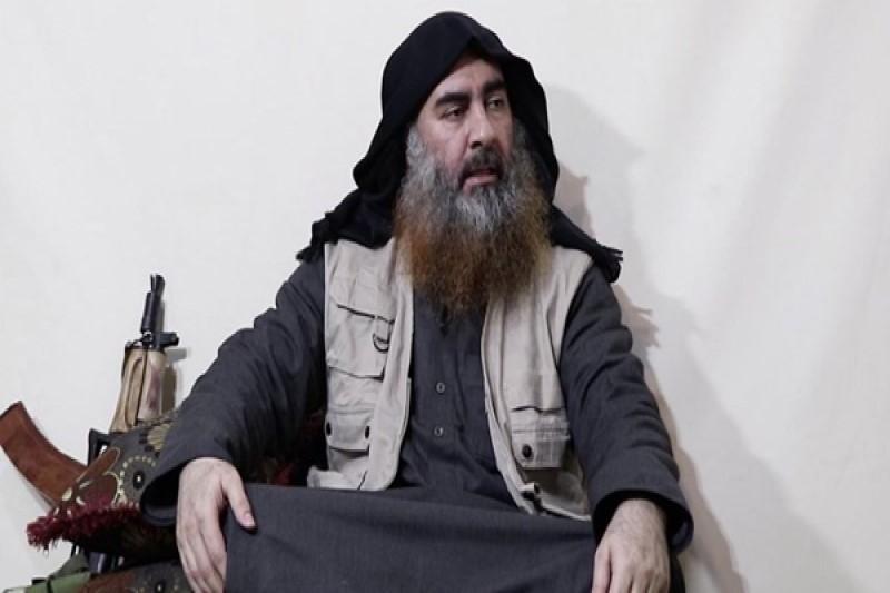 سرکرده گروه تروریستی داعش  بعد از ٥ سال رویت شد+عکس و فیلم