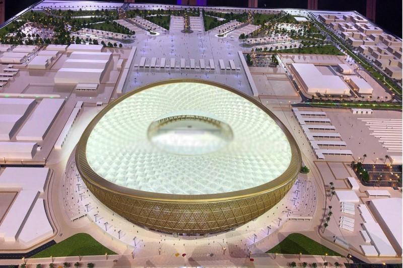 پیشرفت چشمگیر ورزشگاه الریان برای جام جهانی ۲۰۲۲+فیلم