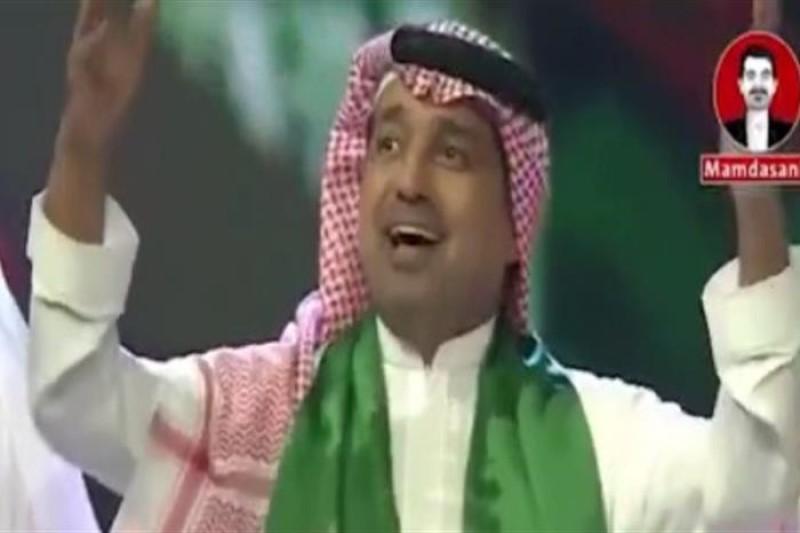 خواندن شعر خلیج فارس توسط عراب منطقه+فیلم