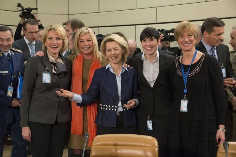 وزارت دفاع دولت های اروپایی در دست زنان+فیلم